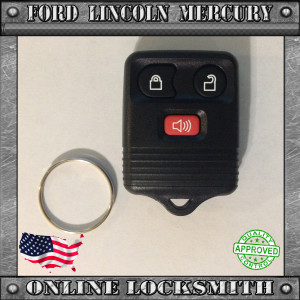ford 3 buttons remote