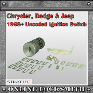 Chrysler ignition uncoded