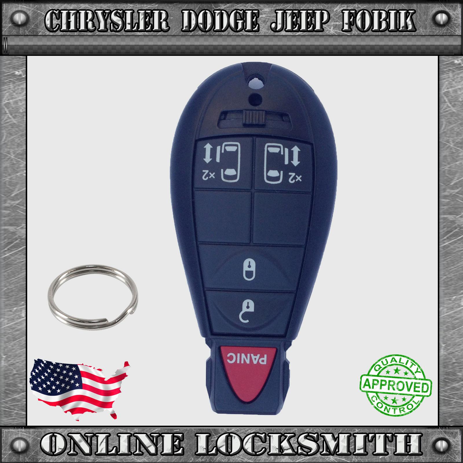 Chry Fobik 4 Key Online Locksmith Store