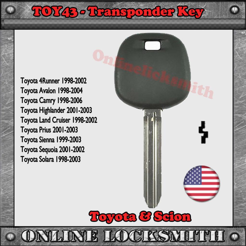 TOY43 Key