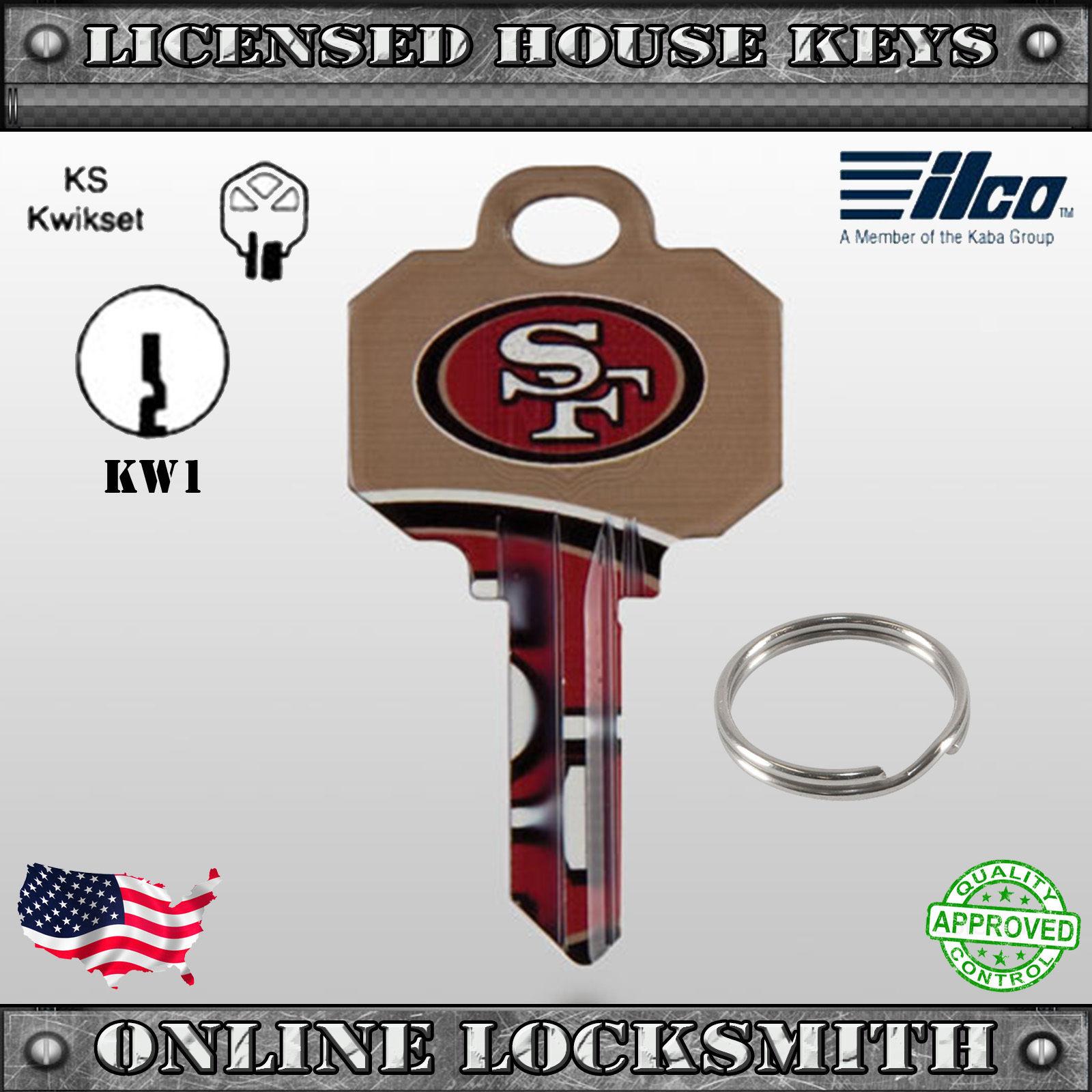 Uncut Officially NFL Licensed Key San Francisco