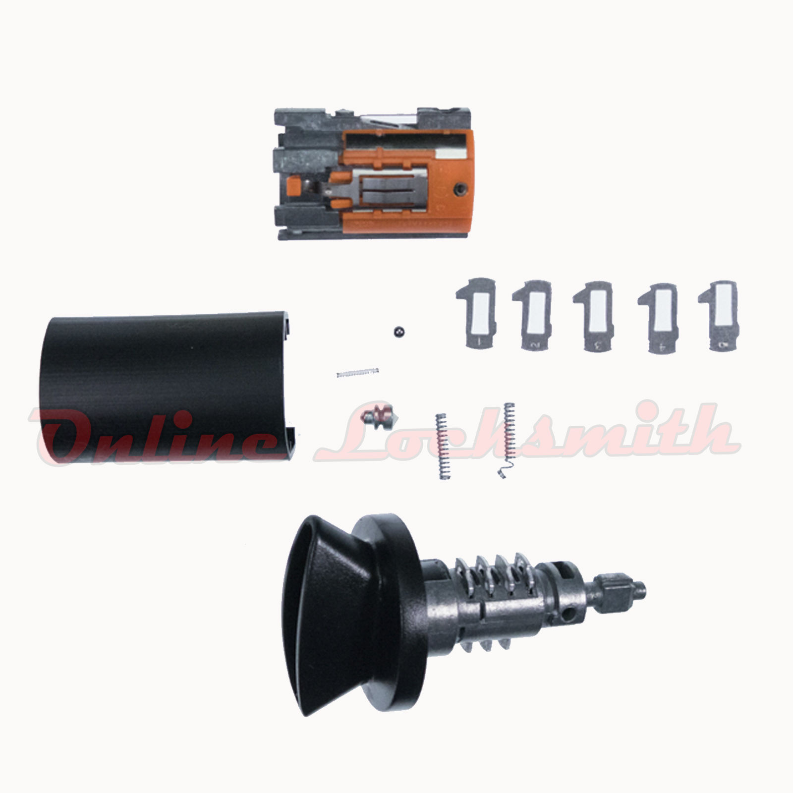 Ignition Lock Cylinder Replacement >> 707624 Ignition Switch Cylinder Replacement Lock Kit Ford Lincoln Mercury Uncoded