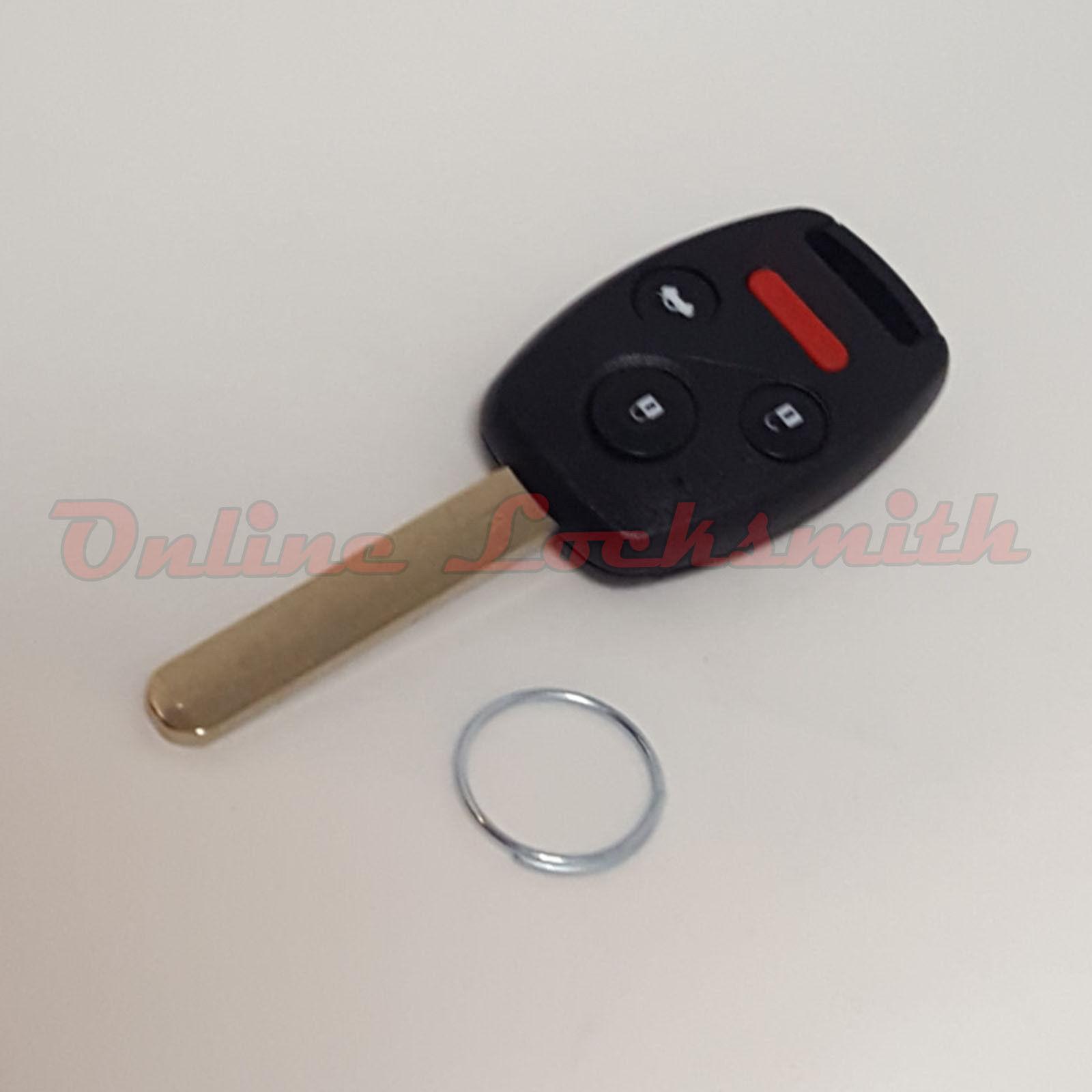 Replacement Honda CR-V 05-06 Remote Key FOB Transmitter