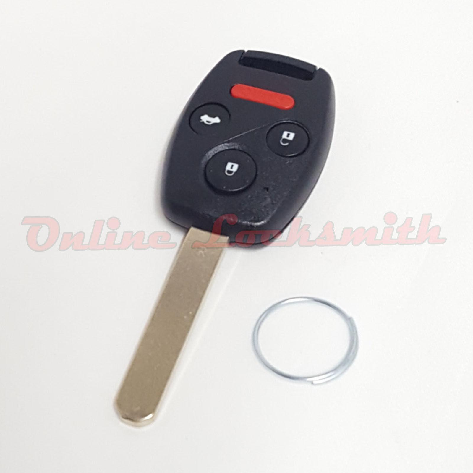 Replacement Honda Accord, Civic & Pilot Remote Key FOB