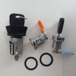 Ford Ignition Switch Cylinder Lock, 2 Door Lock Cylinders and 2 Transponder Keys
