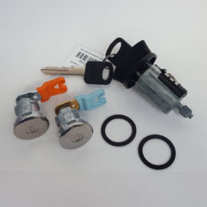 Ford Ignition Switch Cylinder Lock, Pair of 2 Door Lock Cylinders and 2 Keys